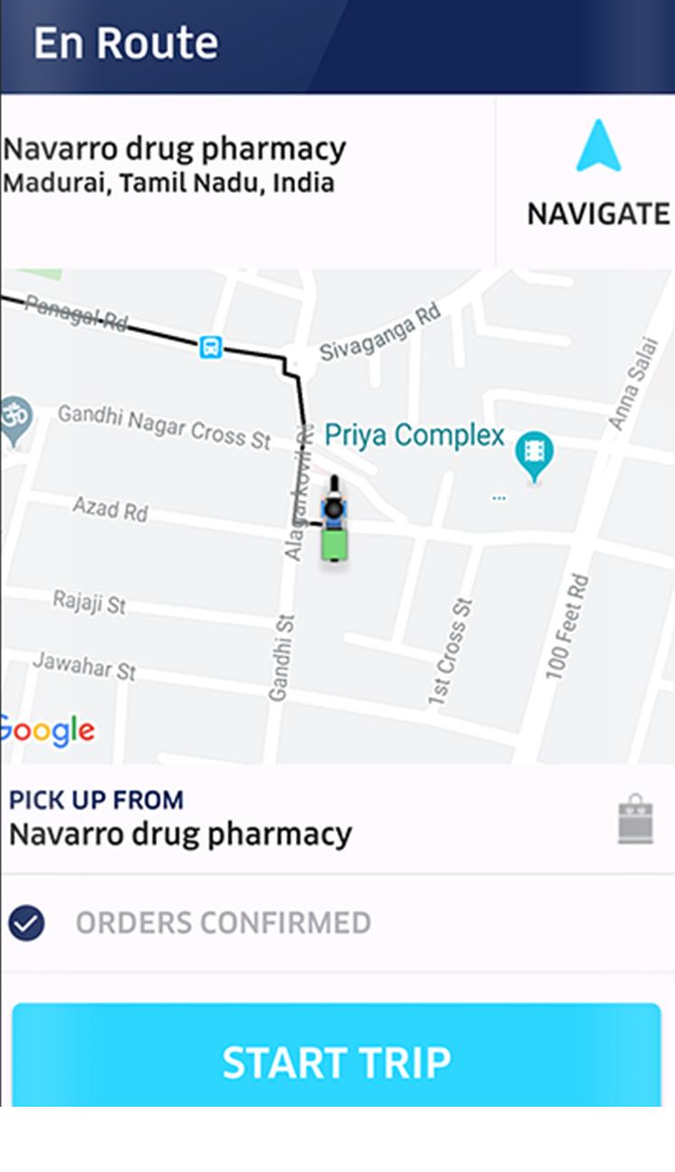 medicine delivery script